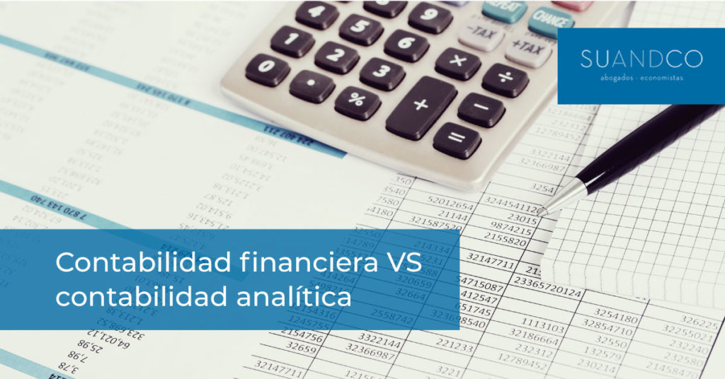 Contabilidad financiera y Contabilidad Analítica