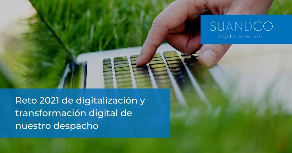 Digitalización del Despacho de abogados y economistas